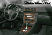 Decor interiéru Rover MGF -všechny modely rok výroby od 01.96 -4 díly přístrojova deska/ středová konsola