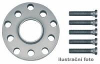 HR podložky pod kola (1pár) ROVER Serie 200 + Serie 400 + 25,45 rozteč 100mm 4 otvory stř.náboj 56,1mm -šířka 1podložky 15mm /sada obsahuje montážní materiál (šrouby, matice)